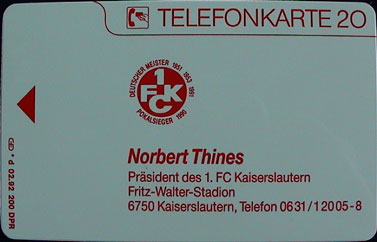 FCK-Cellcards/FCK-PhoneCard-92-Deutscher-Meister-Thines-Norbert-rear.jpg