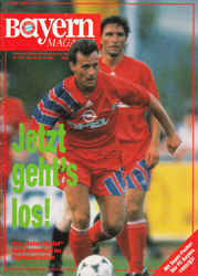 FC Saarbrücken Programm 1992//93 Bayer 04 Leverkusen