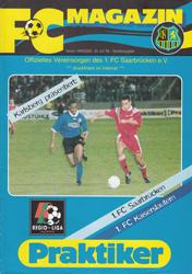 FC Saarbrücken Programm 1999/00 1 Borussia Dortmund Am.